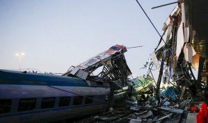تصادم قطارين في بوسطن… وإصابة العشرات! (فيديو)