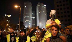 """""""السترات الصفر"""" تقتحم شوارع تل أبيب"""