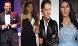 بالصور: هكذا شارك المشاهير العرب في 10yearchallenge#!