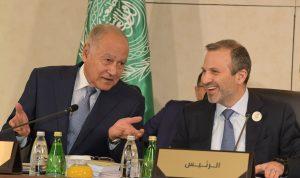 """29 بندًا إلى """"القمة""""… وباسيل يتفهم قرار الرؤساء العرب"""