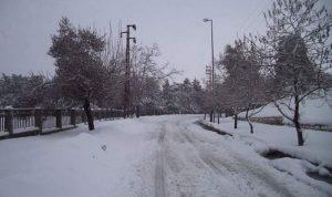 راشيا محاصرة بالثلوج والسيول اجتاحت مخيمات النازحين