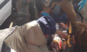 جريح بحادث سير على طريق باتوليه – صور
