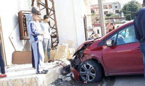 4 جرحى بحادث سير على طريق عام البرغلية – صور