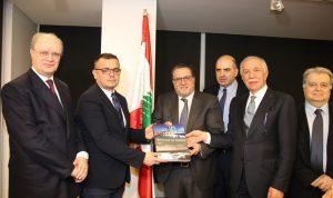 زعيتر ووزير الزراعة الصربي: لتشجيع تبادل المنتجات الزراعية بين البلدين