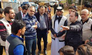 مساعدات من قطر الخيرية للاجئين في عكار
