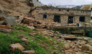 السيول غمرت الاراضي الزراعية في عكار ودخلت المنازل