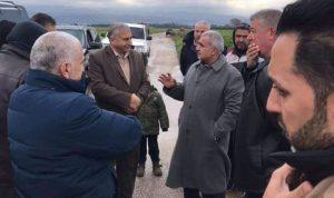 """""""الهيئة للإغاثة"""" تتفقد المناطق المتضررة في سهل عكار"""