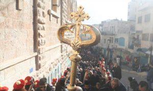 من فلسطين الى سوريا.. هكذا احتفل الأرمن والاقباط بالميلاد