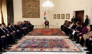 عون عنالقطاع الخاص العربي: لإعادةلمّ شمل الجميع