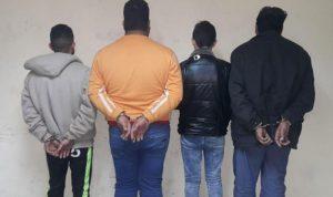 توقيف عصابة سرقة في جبل لبنان