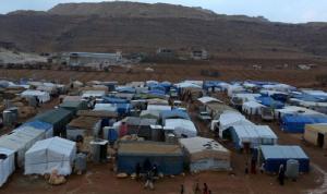مساعدات من الهلال الأحمر القطري لمخيمات اللاجئين في عرسال