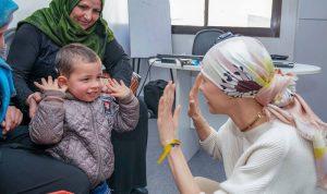 بالفيديو والصور: بعد أشهر من العلاج.. هكذا بدت أسماء الأسد بأحدث ظهور