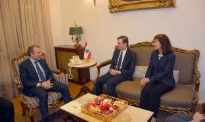 باسيل لهيل: لبنان متمسك بحدوده