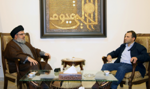 """لقاء نصر الله – باسيل: لعدم احراج """"حزب الله"""""""