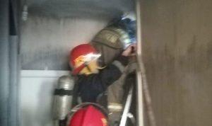 إخماد حريق داخل شقة في غادير