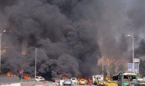 تفجير عبوة ناسفة في دمشق