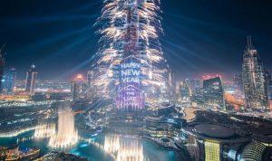 بالصور والفيديو: هكذا ودعّت دبي الـ 2018