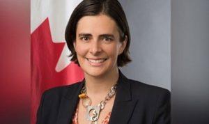 """""""مؤتمر المشرق حول التمكين الاقتصادي للمرأة"""" بين الحريري وسفيرة كندا"""