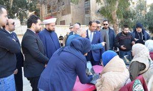 """توزيع حصص غذائية لمؤسسة """"خليفة الإنسانية"""" في بيروت"""