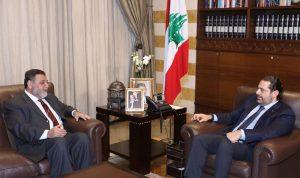 الضاهر التقى الحريري: الوقت للعمل ومعالجة شؤون البلد