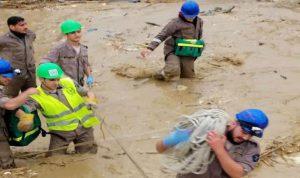 بالفيديو: فيضان نهر الغدير والمياه اجتاحت المنازل