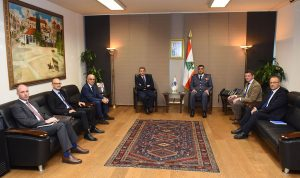 عثمان بحث مع قائد شرطة الحدود الألمانية سبل التعاون