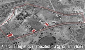 """إسرائيل تكشف مواقع """"فيلق القدس"""" الإيراني في سوريا بعد قصفها"""
