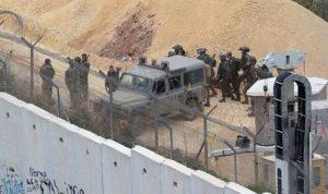 اسرائيل استأنفت الأعمال على الحدود مقابل عدة بلدات