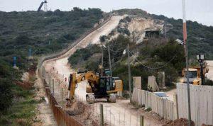 إسرائيل استأنفت أعمال الحفر على الحدود الجنوبية