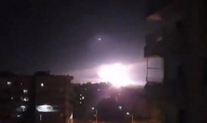 غارات إسرائيلية على سوريا لليوم الثاني (بالفيديو)