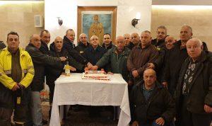 درويش كرّم الدفاع المدني في زحلة:بدأت الورشة لإنارة طريق ضهر البيدر