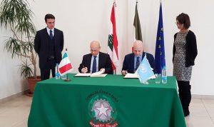 هبة إيطالية للأونروا بقيمة 1.5 مليون يورو