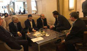 خوري بحث ووزير التجارة الجزائري العلاقات التجارية