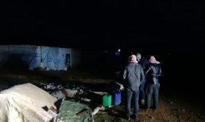 رئيس بلدية القاع تفقد مخيمات النازحين المتضررة