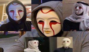 ظاهرة الأقنعة المرعبة تغزو الكويت (بالصور والفيديو)