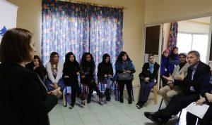 لازاريني زار مركز مؤسسة رينه معوّض في باب التبانة