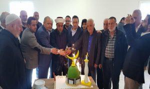 """""""القوات"""" تدعم افتتاح قاعة مسجد في عكار"""