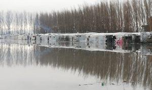 فيضان نهري الزهراني والليطاني وبرك زراعية في النبطية