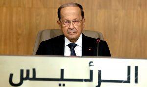 عون: أهم معارك الحكومة مكافحة الفساد
