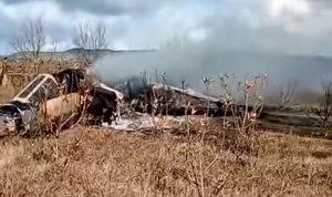 تحطم طائرة تابعة لسلاح الجو المغربي