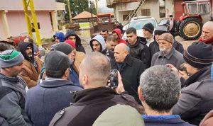 حسين متفقدا الأضرار في عكار: للتعويض على المواطنين