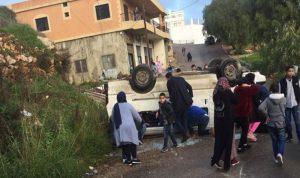 حادث مأساوي في النبطية… وإصابة 12 طالباً