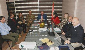 نهرا حض اعضاء لجنة الكوارث للوصول الى الجهوزية القصوى