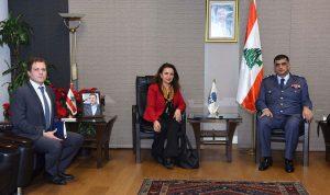 عثمان عرض الأوضاع العامة مع القائم بالأعمال التركي