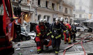 بالفيديو والصور: قتلى وجرحى بانفجار باريس