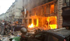 بالفيديو والصور: انفجار ضخم يهز باريس