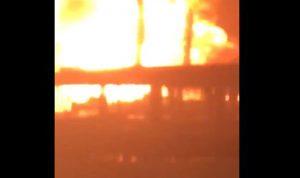 بالفيديو: حريق وانفجار كبير يهز ملهى ليلي في بيرو