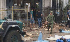 انفجار يستهدف كنيسة جنوب الفليبين (بالصور والفيديو)