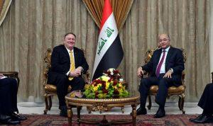 زيارة مفاجئة لبومبيو الى العراق