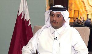 وزير خارجية قطر: هناك مبادرة مطروحة لحل الأزمة الخليجية